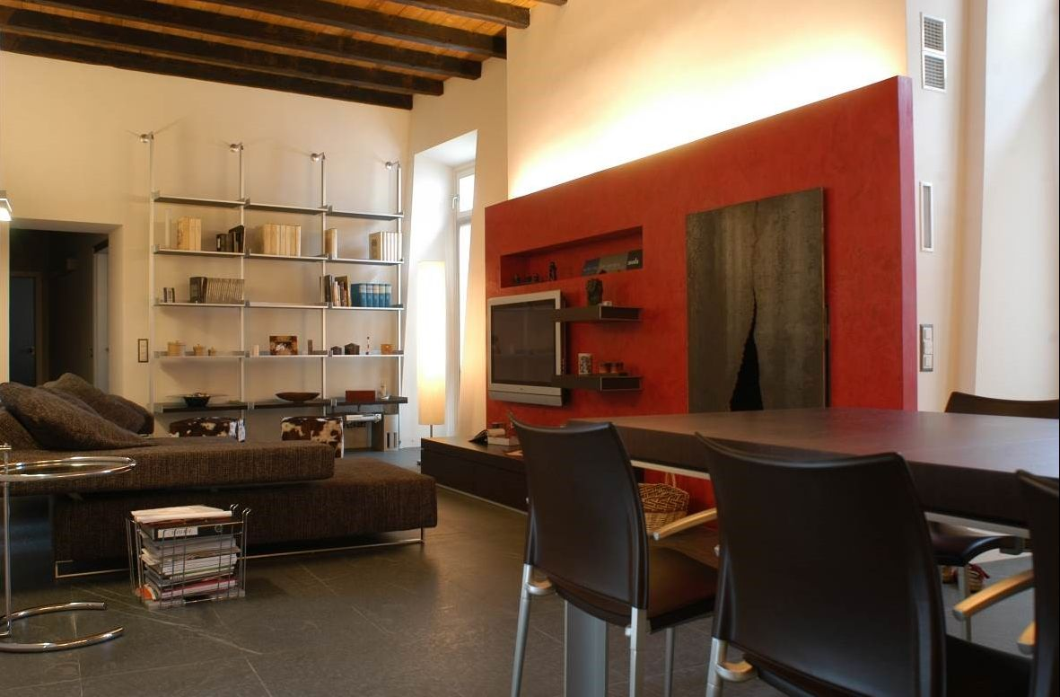 Renovation of the Santa Maria apartment complex, dining room – Sangiorgio